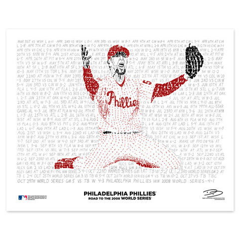 "2008 Philadelphia Phillies ""Road To The World Series"""