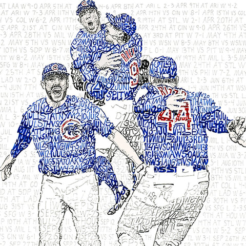 2016 Chicago Cubs Road to the World Series