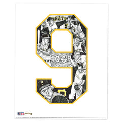 Pittsburgh Pirates #9 Bill Mazeroski