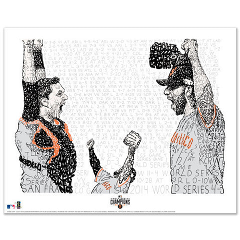 2014 San Francisco Giants Road to the World Series