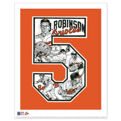 Baltimore Orioles #5 Brooks Robinson