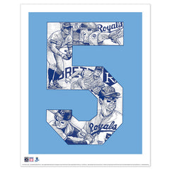 Kansas City Royals #5 George Brett