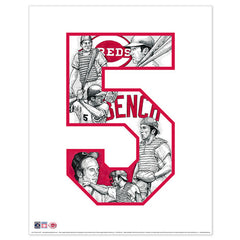 Cincinnati Reds #5 Johnny Bench