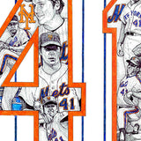 New York Mets #41 Tom Seaver