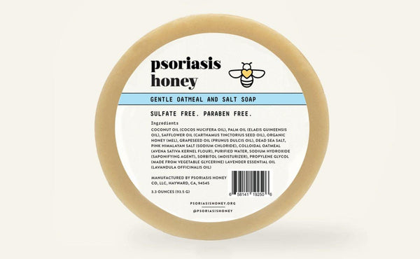 Introducing the Psoriasis Honey Oatmeal and Salt Soap - Psoriasis Honey