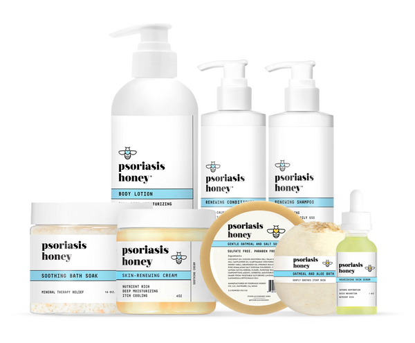 Psoriasis Honey Skin-Renewing Kit