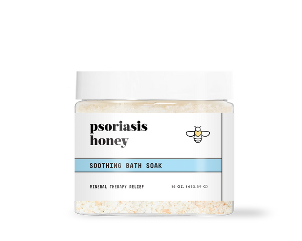 Psoriasis Honey Soothing Bath Soak
