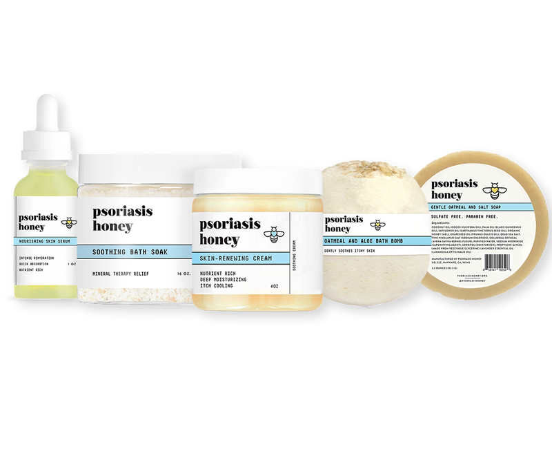 Psoriasis Honey Head to Toe Kit - Psoriasis Honey