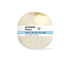 Psoriasis Honey Skin-Renewing Bath Bomb - Psoriasis Honey