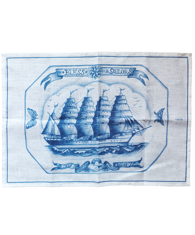 Bless Our Sailors Towel