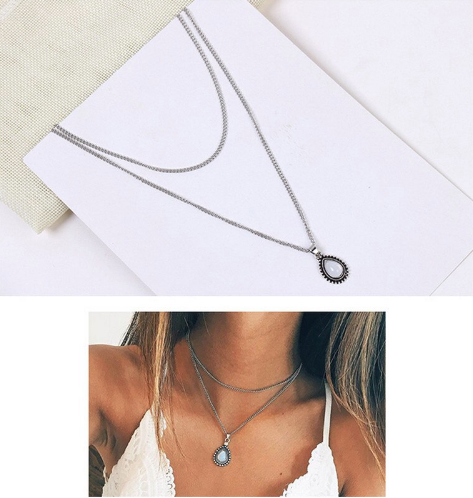 Boho Waterdrop Necklace