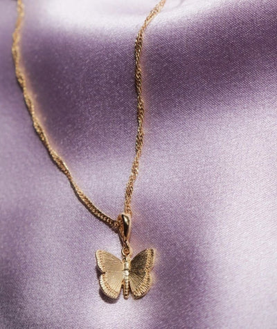 Dazzling Butterfly Necklace
