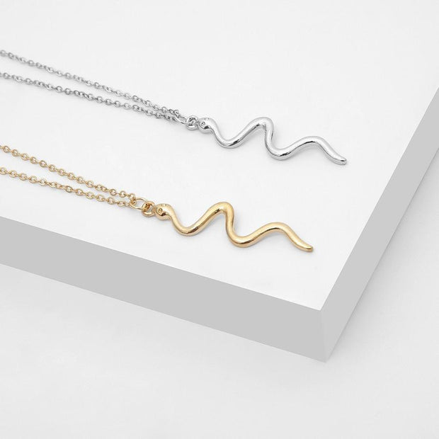 Snake Slender Necklace