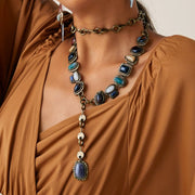 Necklace with Natural Gemstones