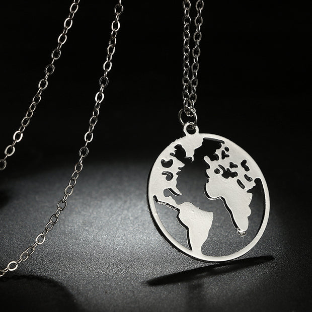 World Pendant Necklace