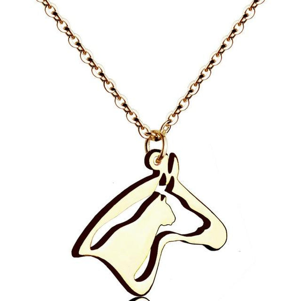 Horse, Dog & Cat Head Necklace