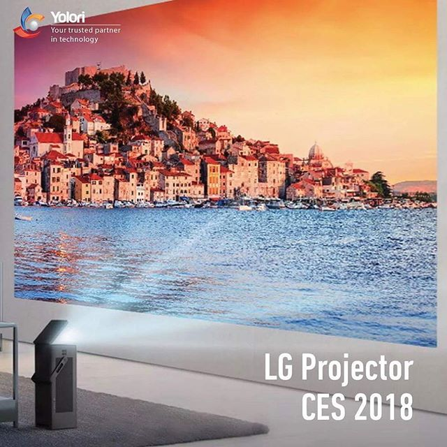LG Projector CES 2018