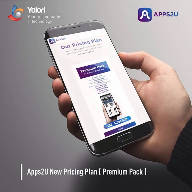 Apps2U New Pricing Plan (Premium Pack)