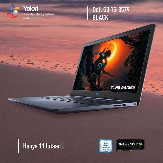 Dell G3 15-3579 BLACK Hanya 11 Jutaan