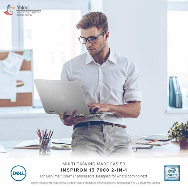 MULTI-TASKING MADE EASIER INSPIRON 13 7000 2-IN-1