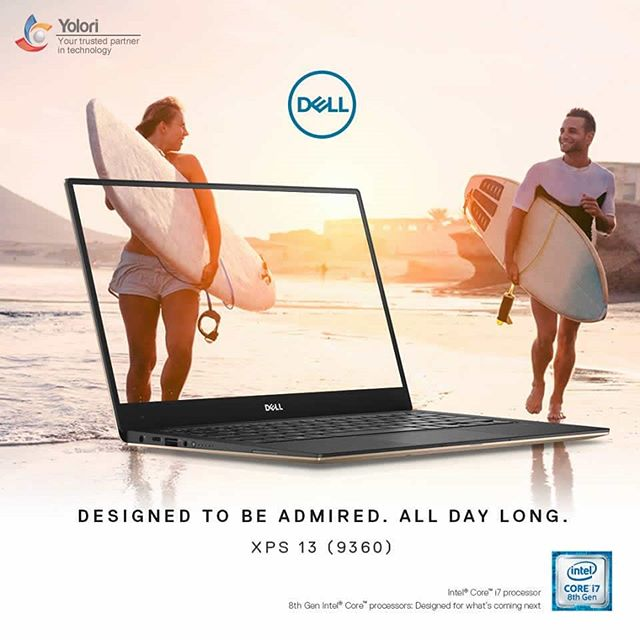 DESIGNED TO BE ADMIRED. ALL DAY LONG. XPS 13 (9360)