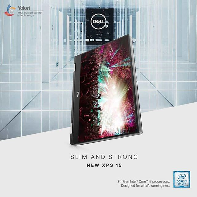 SLIM AND STRONG NEW XPS 15