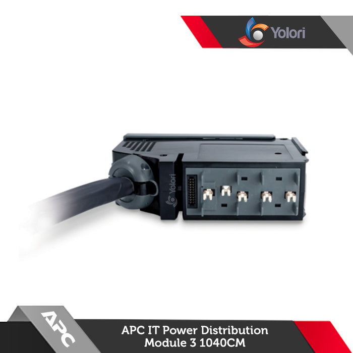PDM316IEC-30R-1040, Harga APC IT Power Distribution Module 3 Pole 5 Wire RCD 16A 30mA IEC309 1040cm, Spesifikasi APC IT Power Distribution Module, Yolori menjual Power Distribution Unit dengan katalog yang sangat lengkap :  OSRAM, Harga Rack, APC, Schneider Electric, ABBA, Austin Hughes, Litech, Netgear, IndoRack, Dell EMC, Hitachi, Samsung, HPE, Electrolux.
