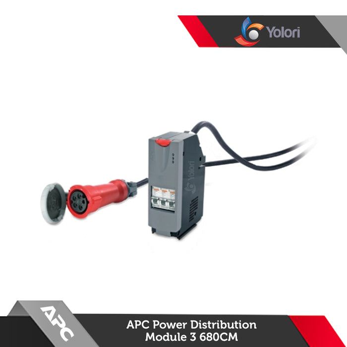 PDM332IEC-30R-680, Harga APC IT Power Distribution Module  3 Pole 5 Wire RCD 32A 30mA IEC309 680cm, Spesifikasi APC IT Power Distribution Module, Yolori menjual Power Distribution Unit dengan katalog yang sangat lengkap :  OSRAM, Harga Rack, APC, Schneider Electric, ABBA, Austin Hughes, Litech, Netgear, IndoRack, Dell EMC, Hitachi, Samsung, HPE, Electrolux.