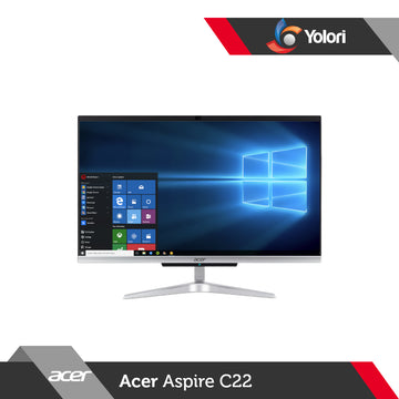 Acer Aspire C22-963 [Ci3-1005G1, 4GB, 1TB, Intel UHD, Windows 10, OHS 2019]