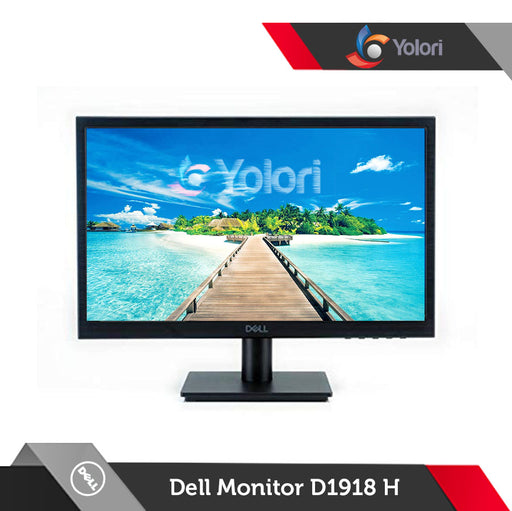 "Dell Monitor D1918H [18.5"" HD (1366 x 768) LED Backlight]"