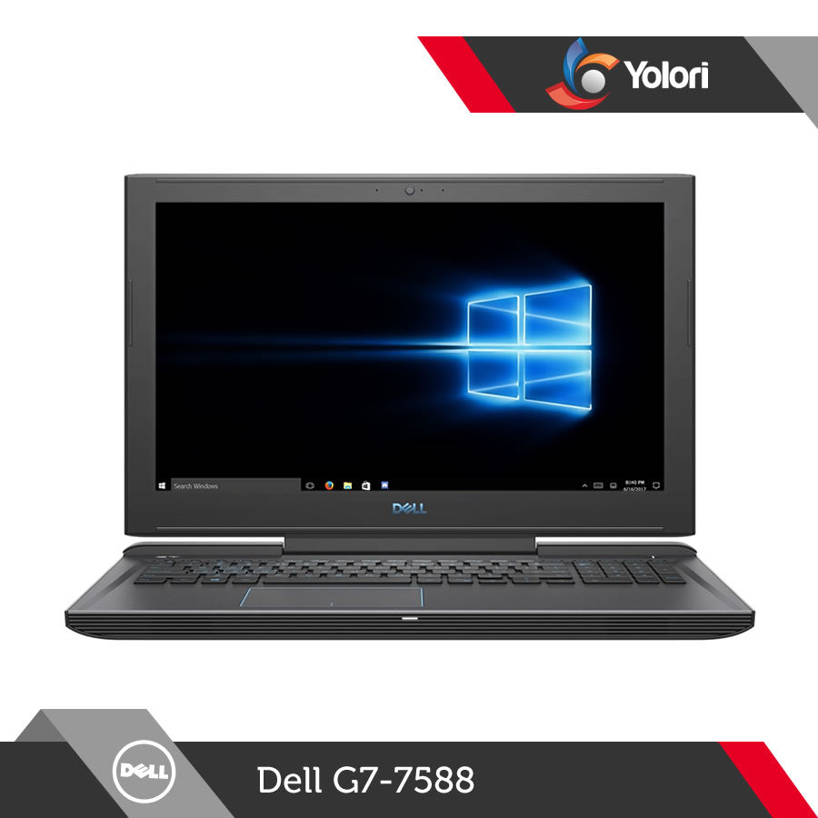 Dell G7-7588 [Ci7-8750H, 8GB, 1TB+128GB, Nvidia GTX-1050Ti, Windows 10]