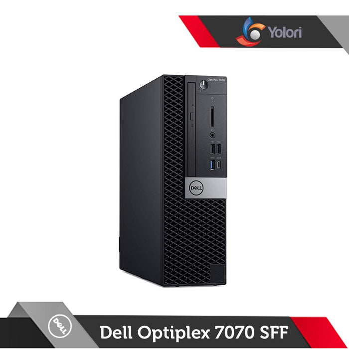 Dell Optiplex 7070 SFF [Ci7-9700, 8GB, 2TB+128GB, Intel UHD, Windows 10 Pro] + Dell Monitor E2016HV