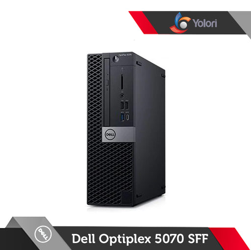 Dell Optiplex 5070 SFF [Ci5-9400, 8GB, 1TB, Intel UHD, Windows 10 Pro] + Dell Monitor E2016HV