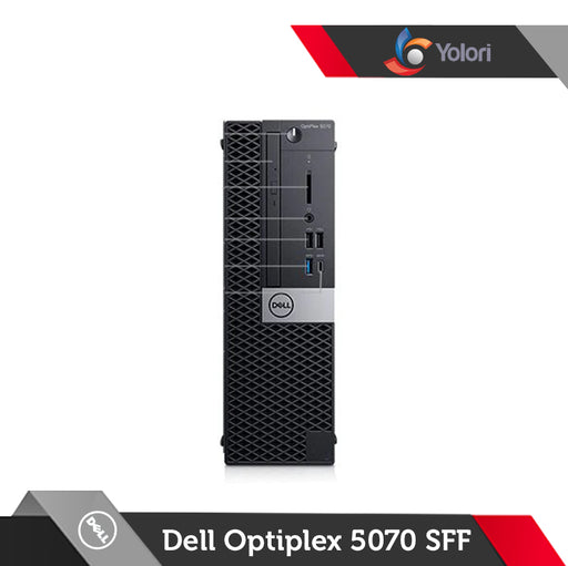Dell Optiplex 5070 SFF [Ci5-9500, 8GB, 1TB, Intel UHD, Windows 10 Pro] + Dell Monitor E2016HV