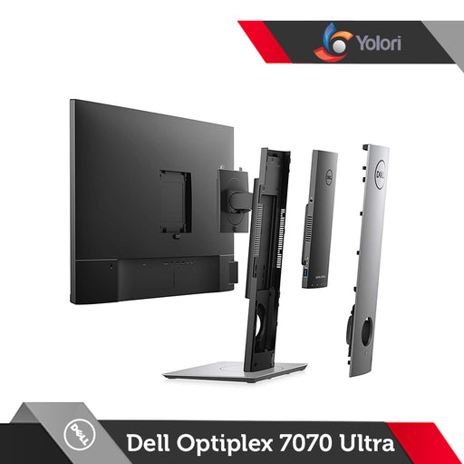 Dell Optiplex 7070 ULTRA [Ci3-8145U, 4GB, 1TB, Intel HD, Windows 10 Pro] + Dell Monitor E2216H