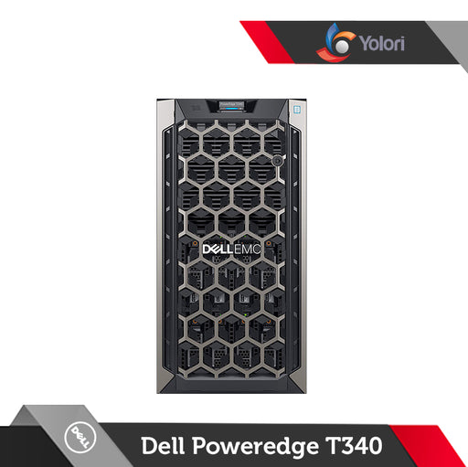 Dell Poweredge T340 [E-2124-8GB-1TB]