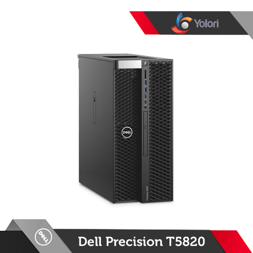 Dell Precision T5820 [XW-2125, 16GB, 1TB, NVIDIA 5GB, Win 10 Pro] + Dell Monitor 24""