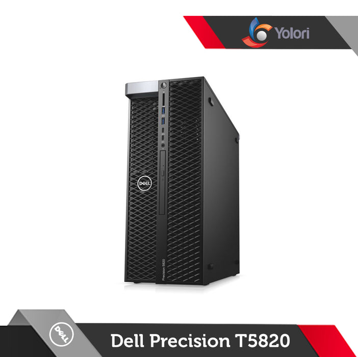 Dell Precision T5820 [W-2123, 16GB, 1TB, Quadro P2000 5GB, Windows 10 Pro] + Dell Monitor P2419H
