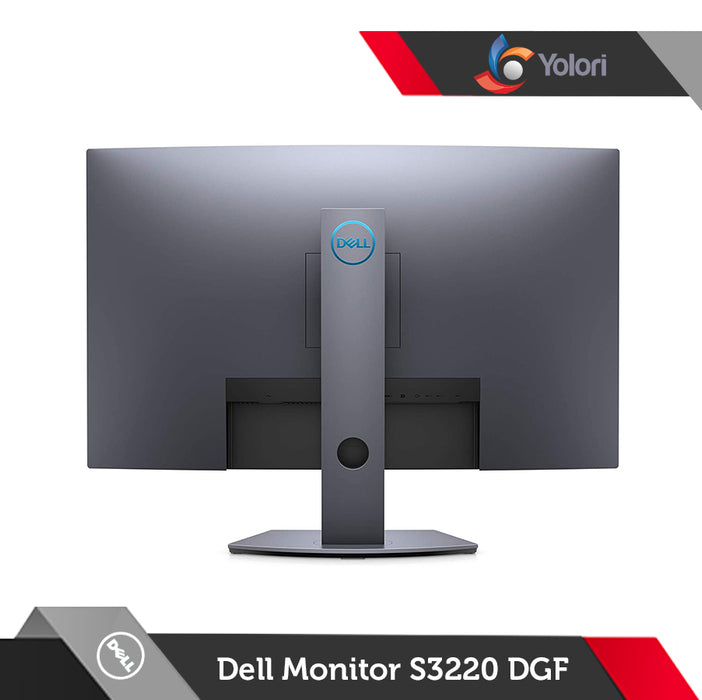 "Dell Curved Gaming Monitor S3220DGF [31.5"" QHD (2560 x 1440) Anti Glare LED Backlight]"