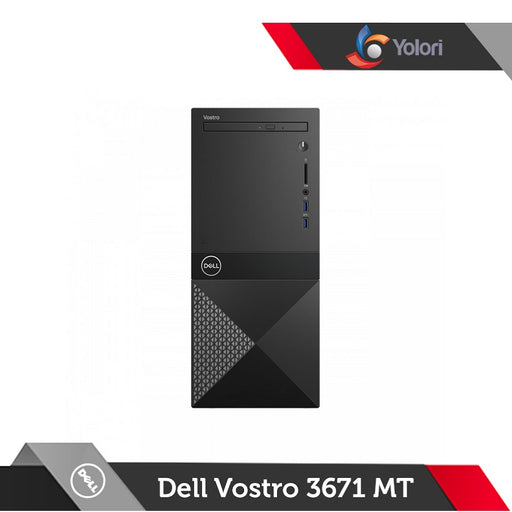 Dell Vostro 3671 MT [Ci5-9400, 4GB, 1TB, AMD 2GB, Windows 10 Pro] + Dell Monitor E2016HV