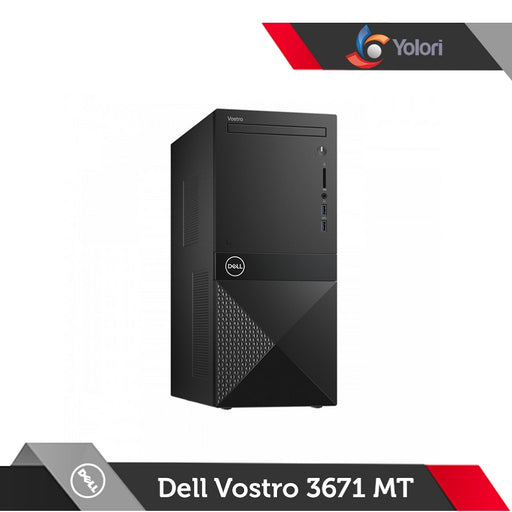 Dell Vostro 3671 MT [Ci5-9400, 8GB, 1TB, AMD 2GB, Windows 10 Pro]+Dell Monitor E2016HV
