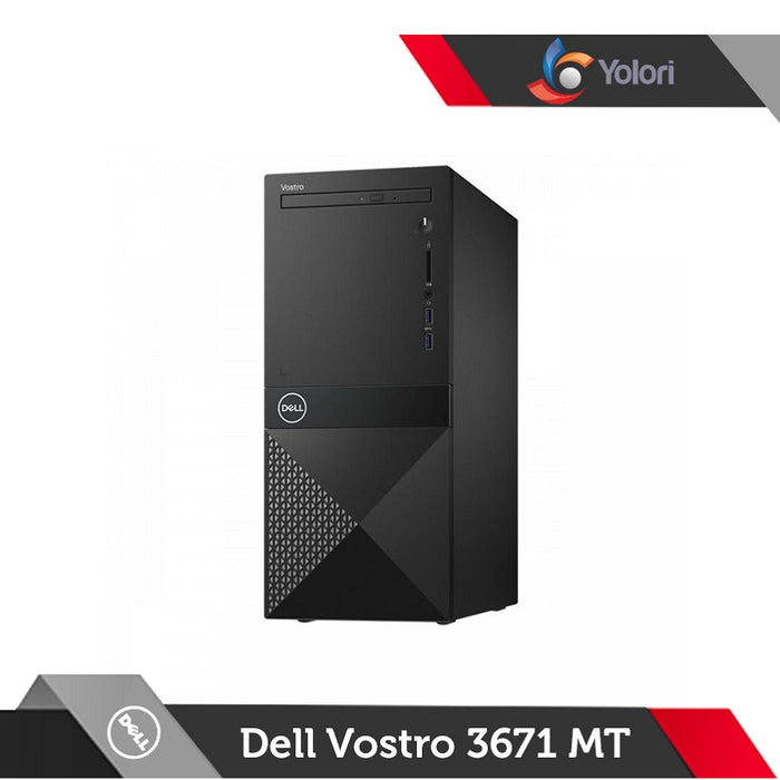 Dell Vostro 3671 MT [Ci3-9100, 4GB, 1TB, Intel HD, Linux]+Dell Monitor E2016HV