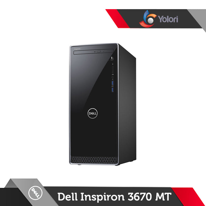 Dell Inspiron 3670 MT [Ci3-9100, 8GB, 1TB, Intel UHD, Windows 10]+Dell Monitor E2016HV