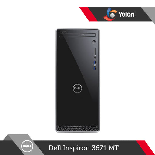Dell Inspiron 3671 MT [Ci3-9100, 8GB, 1TB, Intel UHD, Win 10 SL] + Dell Monitor E2016HV
