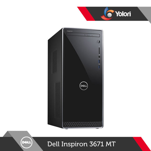 Dell Inspiron 3671 MT [Ci3-9100, 8GB, 1TB, Intel UHD, Windows 10]+Dell Monitor E2016HV