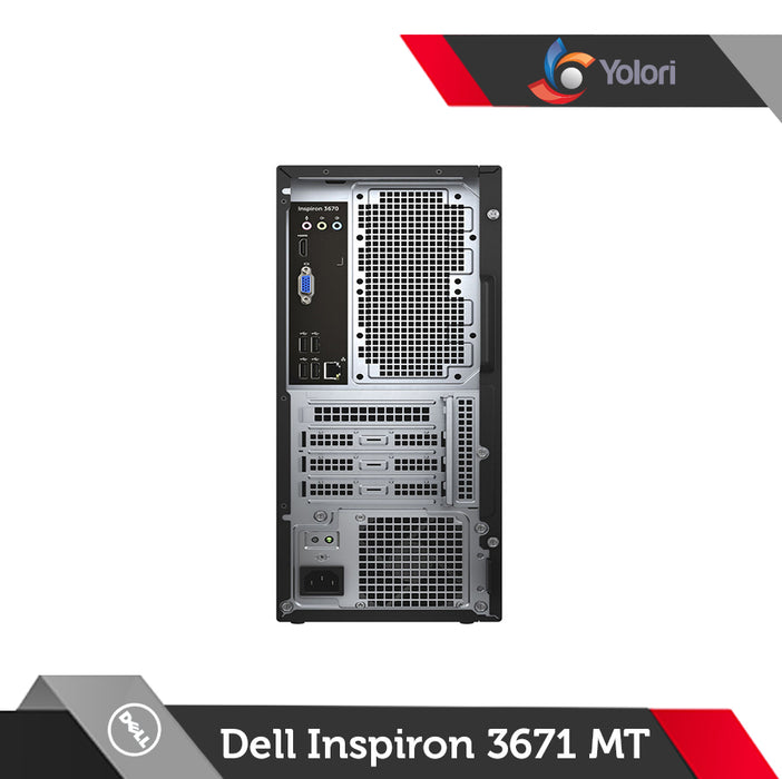 Dell Inspiron 3671 MT [Ci5-9400, 8GB, 1TB, NVIDIA 4GB, Windows 10]+Dell Monitor D1918H