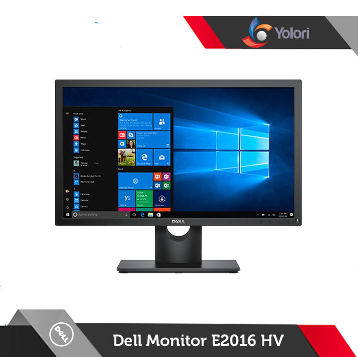 Dell Optiplex 3060 SFF [Ci5-8500, 8GB, 256GB, Intel UHD, Windows 10 Pro] + Dell Monitor E2016HV