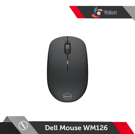 Dell Wireless Mouse WM-126 Hitam