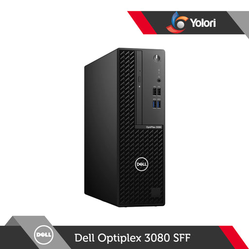 Dell Optiplex 3080 SFF [Ci3-10100, 4GB, 1TB, Intel UHD, Ubuntu] + Dell Monitor E2020H