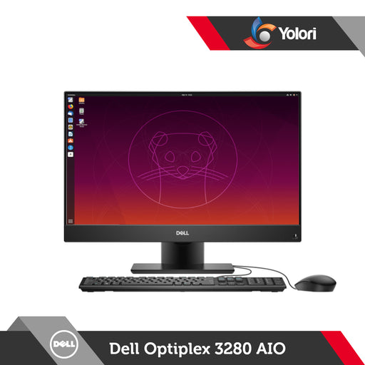 Dell Optiplex 3280 AIO [Ci3-10100T, 4GB, 1TB, Intel UHD, Ubuntu]